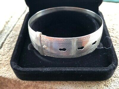 Sterling Silver Bangle - Joseph Smith - Chester - 1945