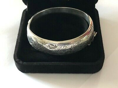 Sterling Silver Bangle - Joseph Smith & Sons - Chester - 1949