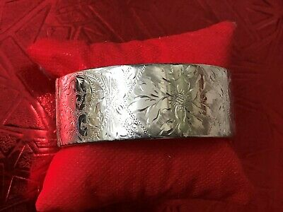 Sterling Silver Bangle - Joseph Smith & Sons - Birmingham - 1963
