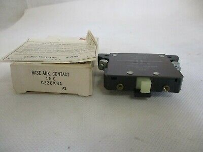 New Eaton/cutler-Hammer C320Kb4 Auxiliary Contact 1 N.o.