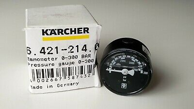 Genuine Karcher Manometer 6.421-214.0  300 Bar