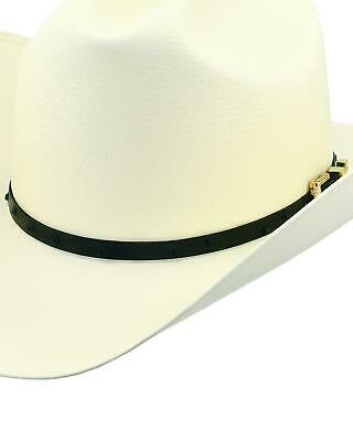 a6daf2fa2 LARRY MAHAN 30X Pancho Gus Palm Straw Western Hat - MS 7681PNCO ...