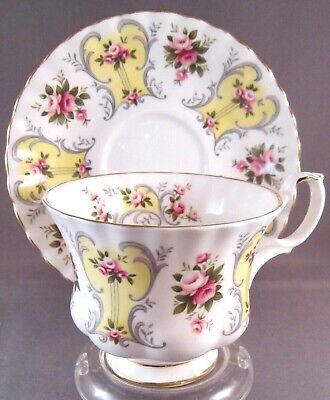 Royal Albert Suzanne Bone China Tea Cup & Saucer - Love Story Series - England