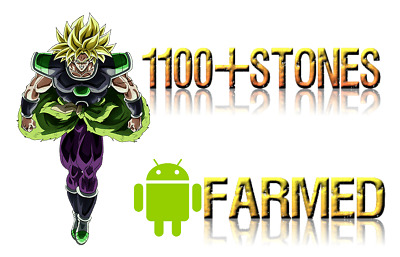 1100+STONES + PHY Broly - Dokkan Battle - Global Android - Farmed
