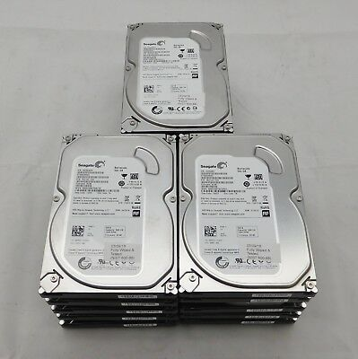 """Lot of 15 Seagate 500GB 3.5"""" Hard Drives - ST500DM002, 7200 RPM, Tested, Wiped"""