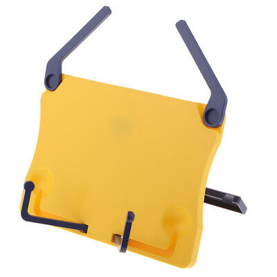 Portable Foldable Desktop Music Stand Holder for Book Reading Studying