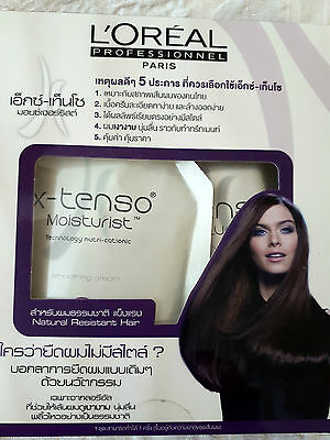L'oreal XTenso Natural Resistant Permanent Hair Straightener Straightening Kit