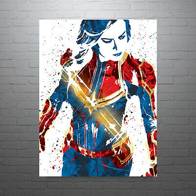 Captain Marvel The Avengers Poster FREE US SHIPPING