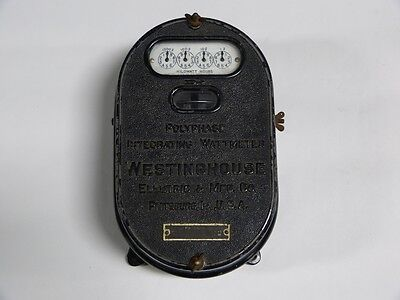 NOS c. 1909 Polyphase Integrating Wattmeter Westinghouse Electric & MFG Co.