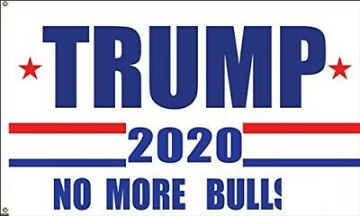 3x5 Ft Trump 2020 No More BS President Flag President Donald Trump b3