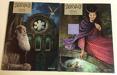 BD ORVAL tomes 1 et 2 EO Servais