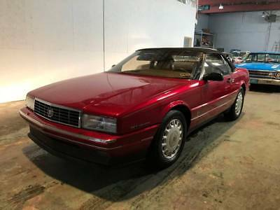 1993 Cadillac Allante Base 2dr Convertible 1993 Cadillac Allante Base 2dr Convertible Automatic 4-Speed FWD V8 4.6L