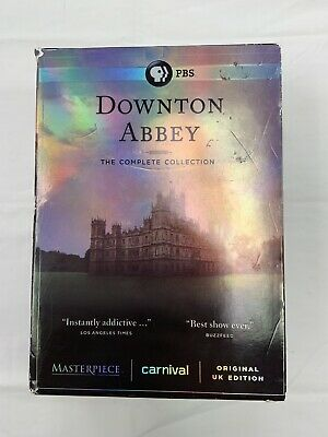 Downton Abbey: The Complete Collection (DVD, 2016) Acceptable Condition