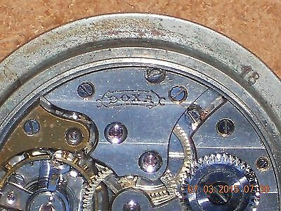 Doxa Antique Early Dash / Travel Timepiece, Roman Dial Winds Sets Runs