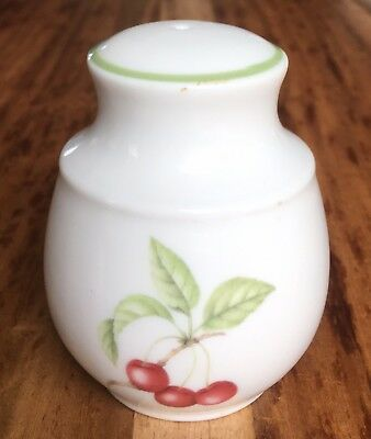 Marks & Spencer - Ashberry - Salt Pot - Cruet - Fruit designs - St Michael