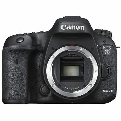 Near Mint! Canon EOS 7D Mark II Digital SLR Body - 1 year warranty
