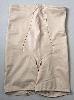 10daef3abfe SHAPE BY CACIQUE Illusion High Waist Thigh Shaper Lane Bryant BEIGE ...