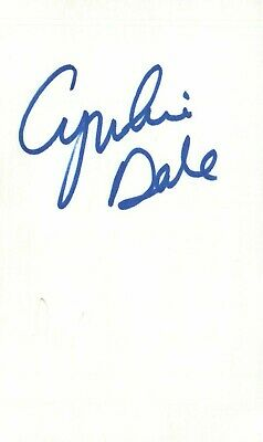 Cards & Papers Kate Bosworth Actress Dawn In Wonderland Movie Autographed Signed Index Card Movies