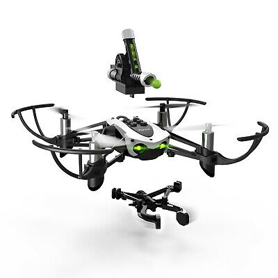 Parrot Mambo MiniDrone - Cannon / Grabber Enabled Quadcopter