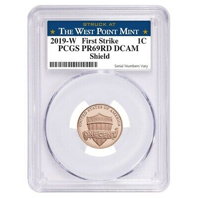 2019 W Proof Lincoln Penny Cent Comm. PCGS PF 69 (West Point)