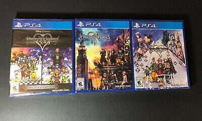 Kingdom Hearts Collection [ 1.5 + 2.5 + 2.8 + 3 ] (PS4) NEW