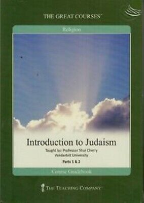 Great Courses: Introduction to Judaism 4 DVD Set + Course Guidebook New Sealed