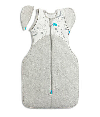 Love To Dream Swaddle Up Transition Bag Extra Warm 3.5 Tog 50 / 50 White 2 Sizes
