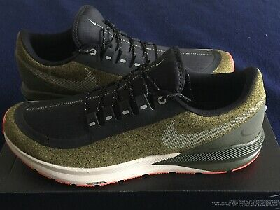 8a901941e72 Nike Air Zoom Structure 22 Shield Size 12 Shoes Olive Flak Repellent AA1645  300