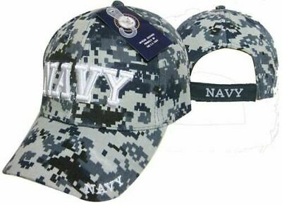 ab29f59043b22 U.S. Navy Veteran 3D Letters Digital Camo Hat ACU Embroidered Cap Licensed