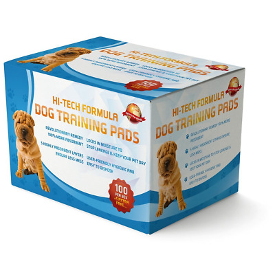 Puppy Training Pads 100 + 5 Extra FREE|60cm x 60cm New Super Absorbent...