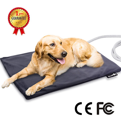 Pecute Pet Heat Pad Large 19.7''x25.6'',Constant Heating Safe Electric...