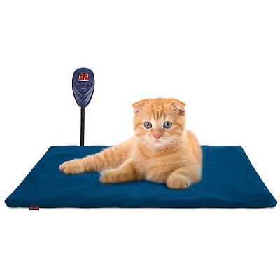 Keten Pet Heating Pad, Cat Dog Puppy Safe Electric Heated Warming Bed Mat...