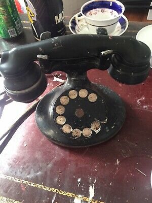 1930 vintage  western electric co.retary dial telephone phone