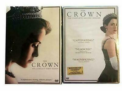 The Crown: Complete Season 1-2  (DVD, 2018, 8-Disc) New Free Shipping