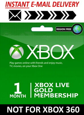 Xbox Live 1 Month Gold Membership (2 x 14 Day Trial) Instant Email Delivery 2/47
