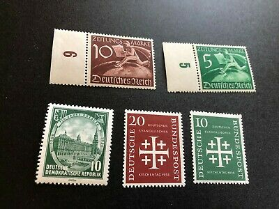 germany good stamps mhog collection hv aa2957