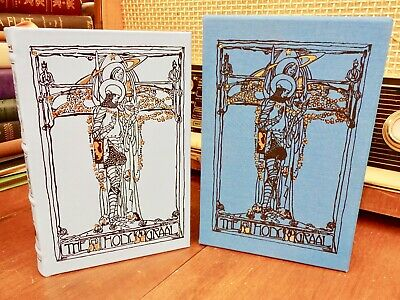 The Holy Graal by Sebastian Evans ~ Rare EASTON PRESS Limited Edition ~ Grail