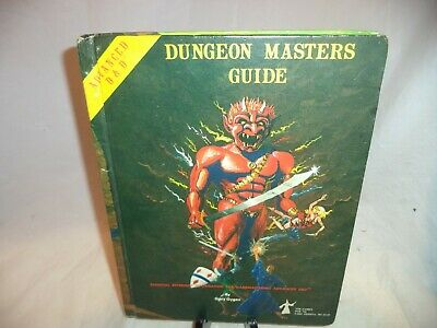 Advanced Dungeons and Dragons DUNGEON MASTER'S GUIDE 1979-Vintage HC  Good