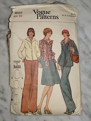 McCall/'s 9578 Misses/' Pull-On Pants and Skirt   Sewing Pattern