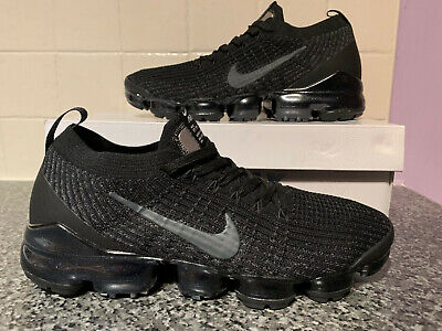 pretty cheap great fit pre order NIKE AIR VAPORMAX Flyknit 3 Black Grey Men's UK 10 EUR 45 ...
