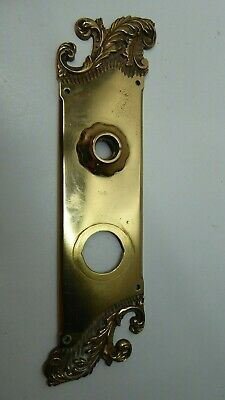 Original Antique Cast Brass Art Deco Nouveau Door Plates Americus Rh Co