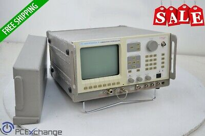 Motorola Communications System Analyzer R2600B/HS Radio 400Hz-999.9999MHz