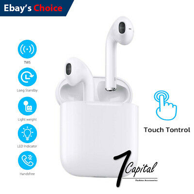 Wireless Bluetooth Earbuds Headset Headphone Earpods For Samsung iPhone 6 7 8 XR