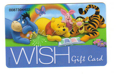 Disney Woolworths WISH gift card - no value on card for collectors 2012