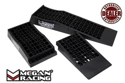 Megan Racing 2 Piece Detachable Low Profile Ramps For Lowered Vehicles - 1 Pair
