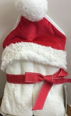 Mothercare Christmas Santa Cuddle N Dry Towel  Suitable From Birth **Bnwt **