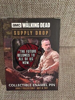 AMC The Walking Dead Supply Drop Collectible Enamel Pin  *Canadian Seller