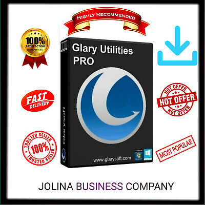 PROMO-Glary Utilities Pro 5 Lifetime License  Instant Delivery