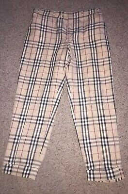352580bff75d BURBERRY PANTS NOVA Check Size 2 Years -92 CM .100% AUTHENTIC ...