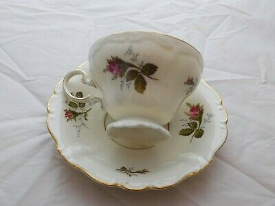 VTG Rosenthal Germany Tea Cup Saucer set Moss Rose POMPADOUR